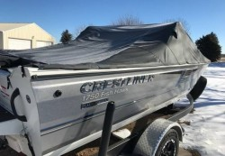 Crestliner Boats-Fish Hawk 1750 SC / WT