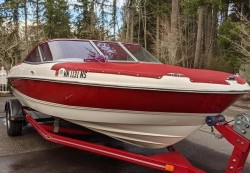 2005 Marine Runabout 205 BR Olympic Edition