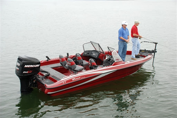 Research 2014 - Triton Boats - 216 Fishunter on iboats com