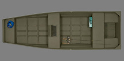2019 - Triton Boats - 1542 Riveted Jon