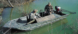 Triton Boats 1650 DS Hunting and Duck Boat