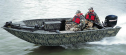 Triton Boats 17T Frontier Hunting and Duck Boat