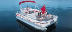 Triton Boats 180 SCR-F Gold Pontoon Boat