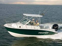 2014 - Trophy Boats - 2302 Walkaround