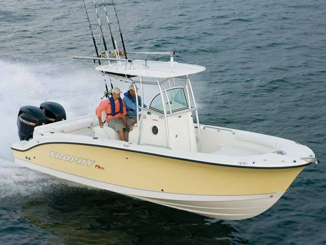 Research 2009 - Trophy Boats - 2503 Center Console on ...