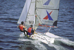 Vanguard Sailboats 49er Racing Sailboat Boat