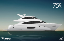 2013 - Viking Yacht - 75 MY