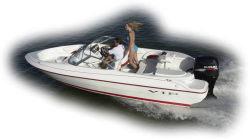VIP Boats 182 Vision Combo SBR OB Fish and Ski Boat