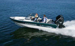 2009 - Warrior Boats - V193 Dual Console and Side Console Eagle