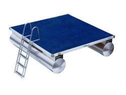 2009 - Weeres Pontoon Boats - Swim Raft 8-x8-