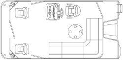 2012 - Weeres Pontoon Boats - Cadet  Fish 160