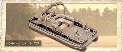 2012 - Weeres Pontoon Boats - Cadet 4-Corner Fish 180