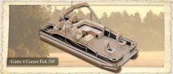 2012 - Weeres Pontoon Boats - Cadet 4-Corner Fish 220