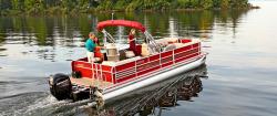 2014 - Weeres Pontoon Boats - Legacy Tiki Bar 240