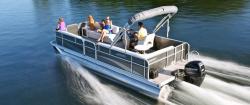 2014 - Weeres Pontoon Boats - Cadet Cruise 220