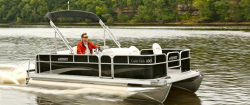 2014 - Weeres Pontoon Boats - Cadet Fish 160