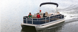 2014 - Weeres Pontoon Boats - Paradise Fish 160