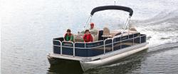 2014 - Weeres Pontoon Boats - Paradise Fish 220