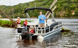2017 - Weeres Pontoon Boats - 180 Allure Fish