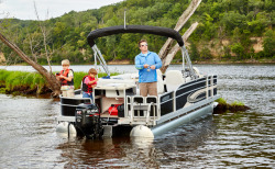 2017 - Weeres Pontoon Boats - 200 Allure Fish