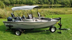 2017 G Three Boats Angler V16 C Franklin PA
