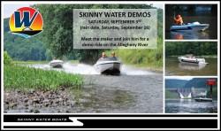 Skinny Water Jet Boat Model 1050