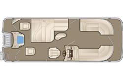 2018 Bennington Marine 22 SSX - Dual Stern Gates Brighton MI