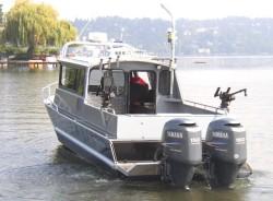2015 - Wooldridge Boats - 26- SS Pilothouse