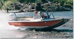 Wooldridge Boats Alaskan 17 Open Tiller Boat