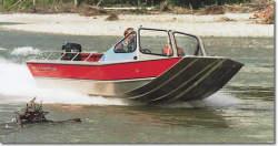 Wooldridge Alaskan II 208 Windshield Boat