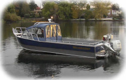 Wooldridge 27 Sedan Utility Boat
