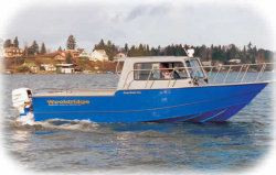 Wooldridge Boats 21 Sedan Utility Boat