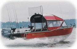 Wooldridge 20 Offshore Windshield Tiller Boat