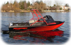 Wooldridge Boats 20- OB Open Jet Boat