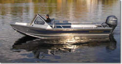 Wooldridge 20- Windshield Jet Boat