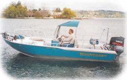 Wooldridge Sport 20 Windshield Boat