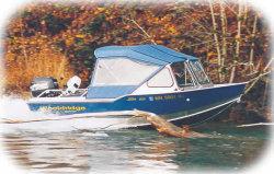 Wooldridge Sport 17 Windshield Boat