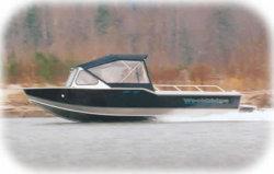 Wooldridge Sport 20 IB Windshield Tiller Boat