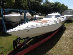 1995 Cougar Offshore Racing Hull New Port Richey FL