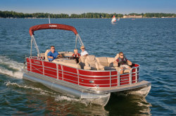 2012 - Xcursion Pontoons - X25FC X3