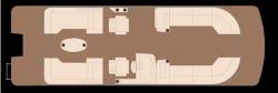 2019 - Xcursion Pontoons - 255 RLX