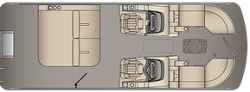 2020 - Xcursion Pontoons - 245 DCFLX