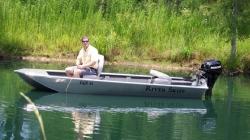 2012 - Xtreme Boats - River Skiff 1542