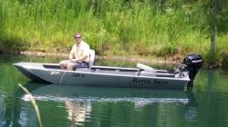 2012 - Xtreme Boats - River Skiff 1236