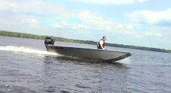 2014 - Xtreme Boats - River Skiff 1542