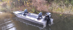 2019 - Xtreme Boats - River Skiff 1554 SS