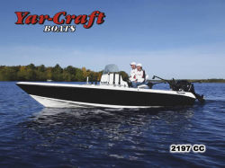 Yar-Craft Boats 2197 CC Multi-Species Fishing Boat