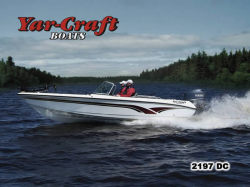 Yar-Craft Boats 2197 DC Multi-Species Fishing Boat